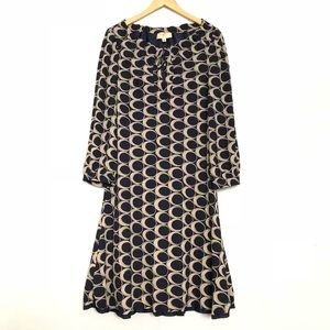 Moulinette Soeurs Anthropologie Geo Circles Dress